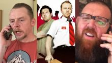 Simon Pegg and Nick Frost pay homage to 'Shaun of the Dead' in coronavirus video