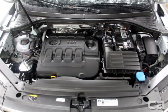 400 TDI 2.0L柴油渦輪引擎的動力輸出為全車系之最,讓尺寸增加的Tiguan Allspace依然輕快敏捷。