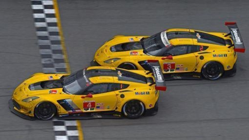 Watch Two Corvettes Race To The Closest Finish In Daytona 24 History