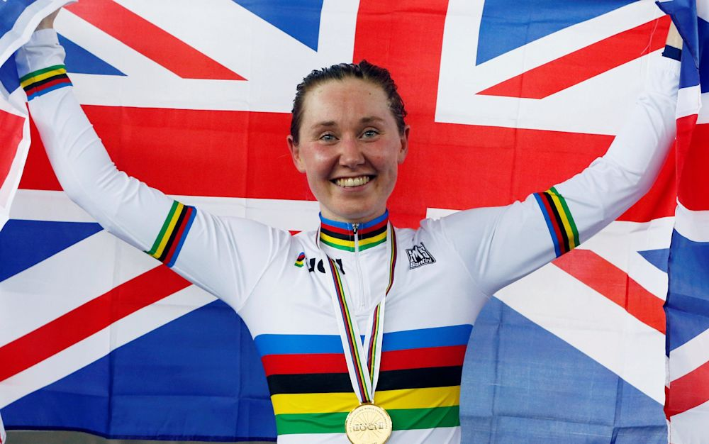 Katie Archibald certainly enjoyed her own Good Friday meeting as she won the omnium title at the Track Cycling World Championshipsin Hong Kong - REUTERS