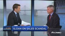 Wells Fargo CEO Tim Sloan speaks exclusively to CNBC