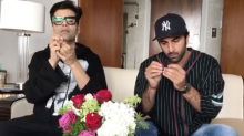 KJo, Ranbir, Alia & SRK Take up the 'Sui Dhaaga' Challenge