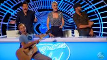 'American Idol' returns with Katy Perry kissing a boy and with a contestant's redemption
