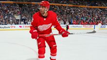 Oilers acquire Andreas Athanasiou from Red Wings for Sam Gagner, two picks