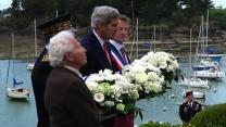 Raw: Kerry Pays Tribute to US Servicemen