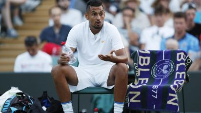 Don't care-Kyrgios hottest ticket in SW19
