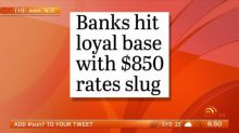 Banks overcharging loyal customers