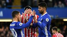 Diego Costa double sees Chelsea edge closer to Premier League title