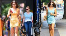遛狗也要顧時尚!Jennifer Lawrence、Emily Ratajkowski等歐美名人私服造型大公開