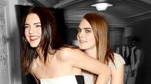 Kendall Jenner & Cara Delevingne Embrace Like They're Living in a Rom-Com