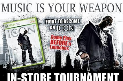 Def Jam: Icon tournaments at Gamestop