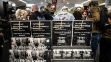 French rock fans queue up for posthumous Hallyday album