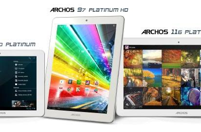 Archos 116 Platinum tablet joins CES lineup with 11.6-inch IPS screen for $349