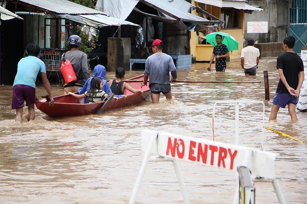 The storm hit central and eastern Philippine islands on December 29 and caused massive flooding and landslides