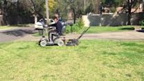 Lazy Man's Lawnmower