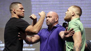 Trainer wants to see McGregor vs. Diaz III