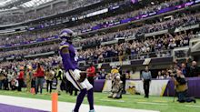 Stefon Diggs scores three touchdowns to beat Eagles