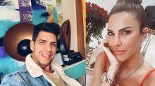 Diego Matamoros besa a Carla Barber en Instagram