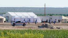 Detention facilities for children draw angry onlookers