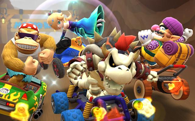 'Mario Kart Tour' finally works in landscape mode