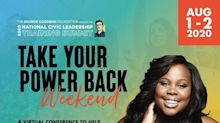 Amber Riley, Udonis Haslem, Blair Imani, Kimberly Jones, and Other Celebrity Activists Join The Andrew Goodman Foundation's First Take Your Power Back Weekend