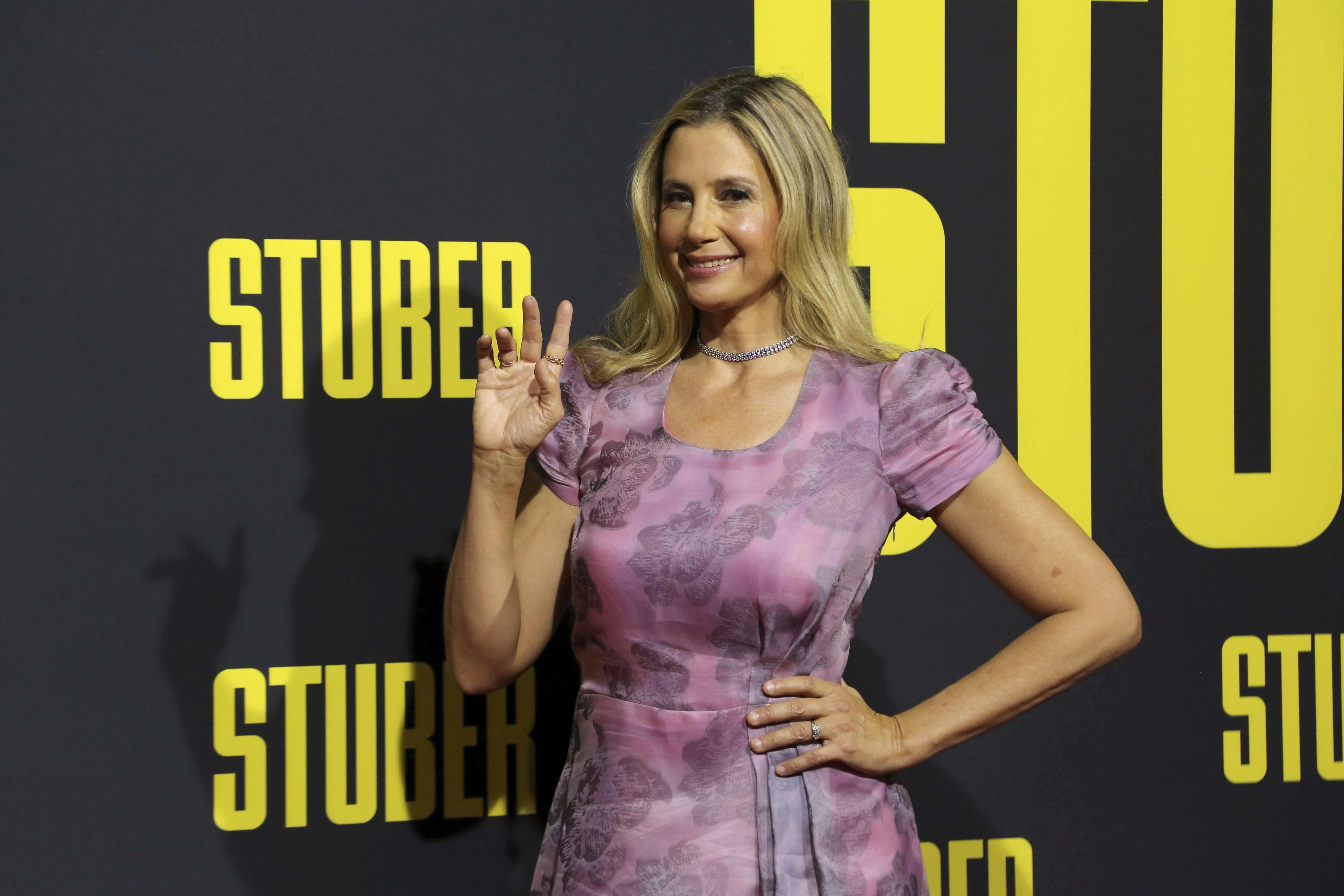 Stuber's' Mina Sorvino has a 'pathetic' Uber rating (says