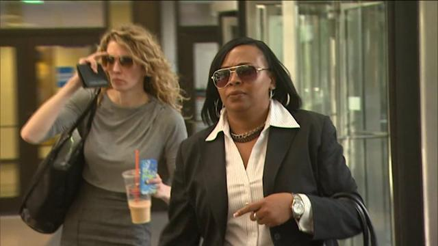 RAW: Carla Oglesby leaves court