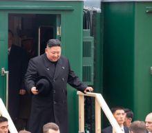 North Korea's Kim arrives for summit with Russia's Putin