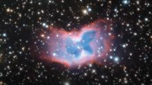 Space Butterfly! ESO's Very Large Telescope Captures Rare and Striking Colourful Bubble of Gas 'NGC 2899' Resembling a Butterfly (Watch Stunning Video)