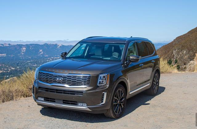 The Kia Telluride is surprisingly high-tech and stylish (for a Kia)