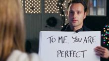 Andrew Lincoln agrees he played a 'weird stalker guy' in Love Actually