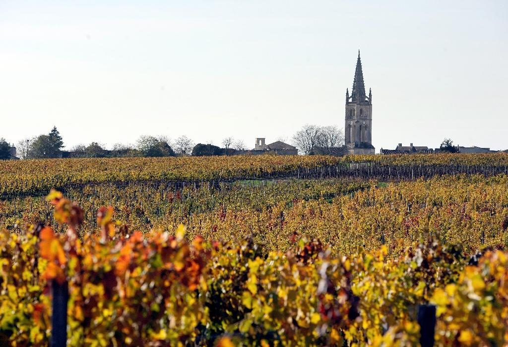 Saint-Emilion, near Bordeaux, southwestern France, is home to some of the famous wines of the Bordeaux region (AFP Photo/JEAN-PIERRE MULLER)