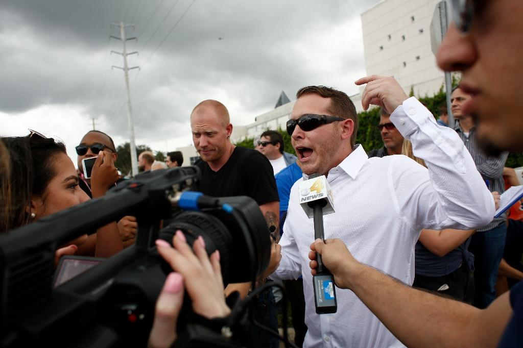 Three arrested in Florida shooting after white supremacist speech