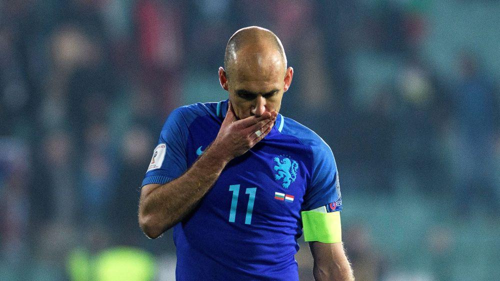 """Arjen Robben glaubt nicht mehr an WM: """"Es tut weh"""""""