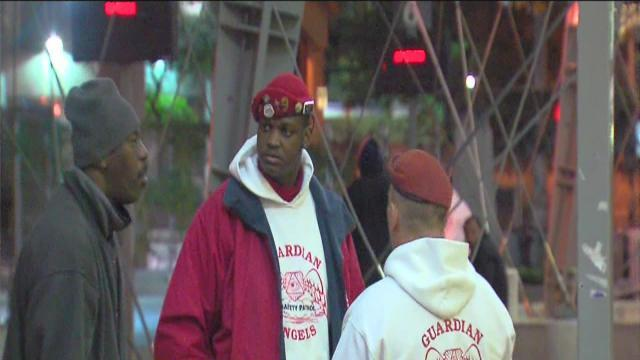 Guardian Angels patrolling city buses