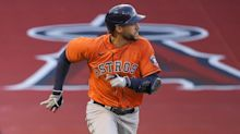 George Springer remains out for Astros-Giants game