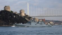 Turkey loses 33 soldiers in attack, Russia deploys warships to Syria coast
