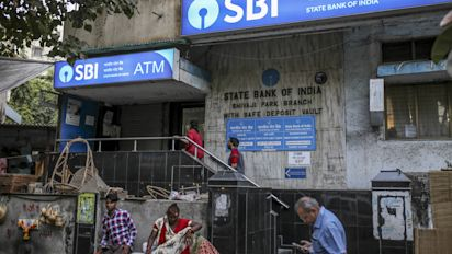 SBI posts record quarterly loss of Rs 7,718 cr in Q4