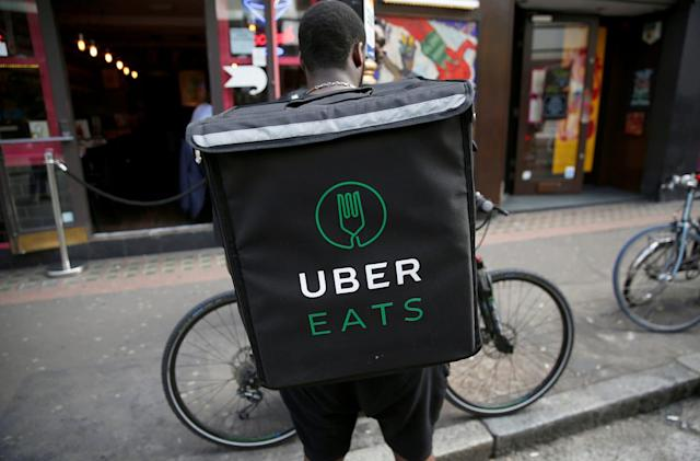 UberEats is now available in Manchester