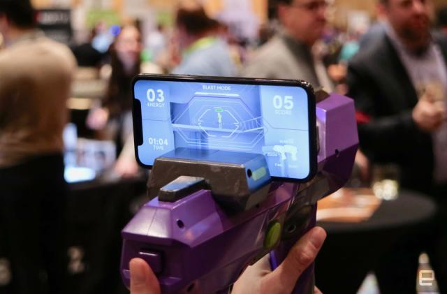 Merge is the closest thing we have to an AR Nerf gun