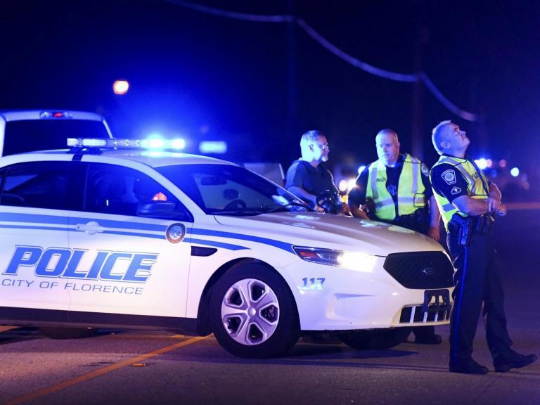 South Carolina shooting: Police officer killed and six others wounded after man holding children hostage opens fire