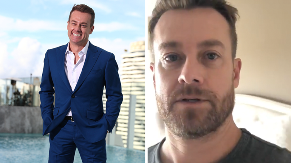 Grant Denyer experienced hallucinations following 'hardcore' painkiller addiction