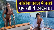 Amy Jackson enjoying vacation with family in Italy, Shares Bikni Look