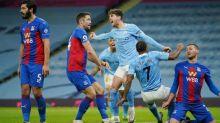 Foot - ANG - Manchester City revient à deux points de United après sa victoire facile contre Crystal Palace
