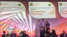 Bee Vectoring Technologies Wins at International Agrow Awards for Innovation
