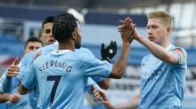 Manchester City ease past Fulham with Sterling and De Bruyne sparkling