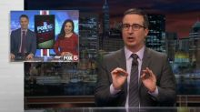 John Oliver rips inappropriate coverage of International Women's Day