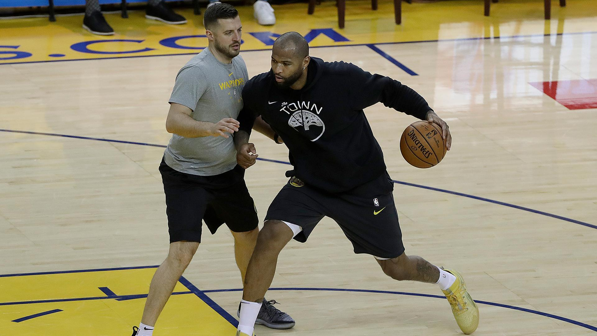 Warriors' DeMarcus Cousins could return in time for start of NBA Finals