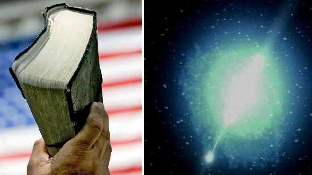 Does the Bible support the Big Bang Theory?