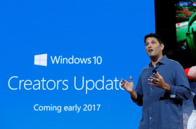Windows 10 Creators Update will add tab previews and a night mode